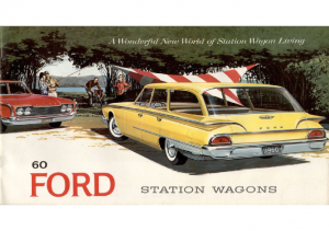 1960 Ford Wagons Prestige