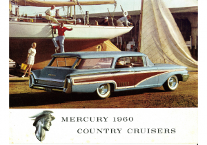 1960 Mercury Country Cruisers