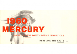 1960 Mercury Facts