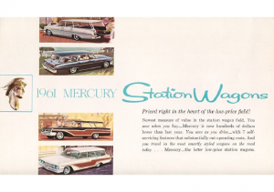 1961 Mercury Wagons