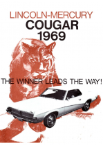 1969 Mercury Cougar Booklet