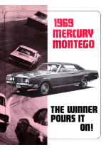 1969 Mercury Montego Booklet