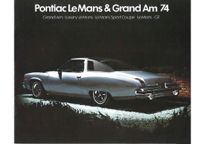 1974 Pontiac LeMans & Grand Am (Cdn)