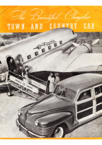 1942 Chrysler Town and Country Folder