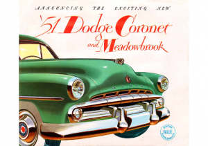 1951 Dodge Coronet and Meadowbrook