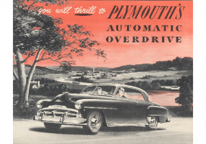 1952 Plymouth Overdrive