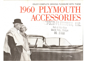 1960 Plymouth Accessories