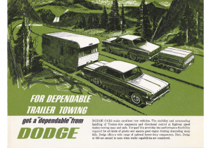1964 Dodge Trailer Towing