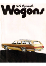 1972 Plymouth Wagons