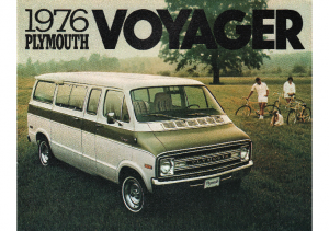 1976 Plymouth Voyager Vans