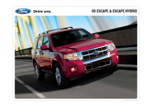 Dezo S Garage 2009 Ford Car Cuv Amp Suv Pdf Sales Brochure