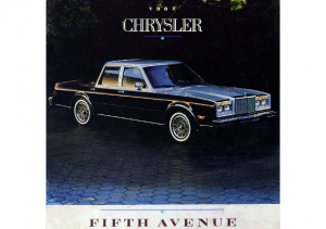 Dezo's Garage|1980-1989 Chrysler Car PDF Sales Brochure